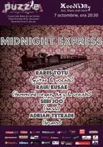 Concert Midnight Express în Club Puzzle din Bucureşti