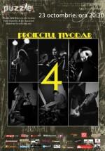 Concert aniversar Proiectul Tivodar în Club Puzzle din Bucureşti