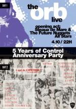5 Years of Control Anniversary Party în Control Club din Bucureşti
