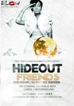 HideOut Friends în Blow Cafe din Bucureşti