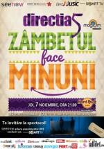 Concert Direcţia 5 – Zâmbetul Face Minuni în Hard Rock Cafe din Bucureşti (CONCURS)