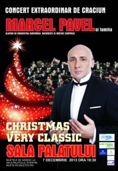 Concert Marcel Pavel – Christmas Very Classic la Sala Palatului din Bucureşti