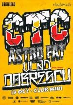 Concert CTC în Club Midi din Cluj-Napoca
