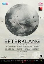 Concert Efterklang în Control Club din Bucureşti