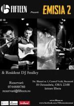 Concert Emisia 2 în Fifteen Restaurant & Pub din Bucureşti