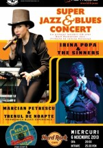 Super Jazz & Blues Concert în Hard Rock Cafe din Bucureşti