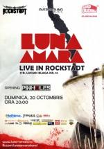Concert LIVE Luna Amară în Rockstadt din Braşov