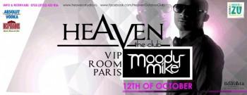 Moody Mike în Heaven Studio din Timişoara