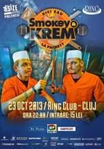 Concert şi lansare album Smokey & KREM în Club Ring din Cluj-Napoca
