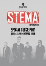 Concert Stema în Control Club din Bucureşti