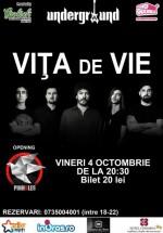 Concert Viţa de Vie în Underground Pub din Iaşi