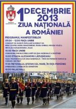 1 decembrie 2013 – Ziua Naţională a României la Iaşi