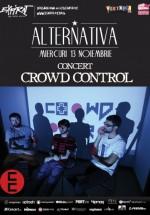 Concert Crowd Control în Club Expirat din Bucureşti