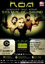 """Lansare album R.O.A. – """"System of Sound"""" în Colectiv din Bucureşti"""