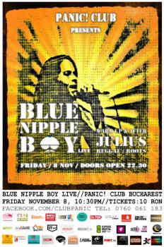 Concert Blue Nipple Boy în Panic! Club din Bucureşti