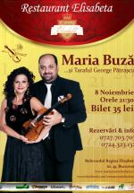 Concert Maria Buză la Restaurant Elisabeta din Bucureşti
