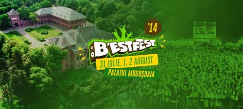 B'ESTFEST Summer Camp 2014, la Palatul Mogoşoaia, între 31 iulie – 2 august