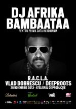 DJ Afrika Bambaataa în Atelierul de Producţie din Bucureşti (CONCURS)