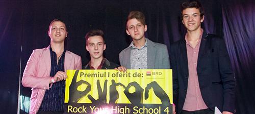 Câştigătorii concursului byron – Rock Your High School 2013