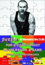 Concert Silviu Paşca & Band în Club Puzzle din Bucureşti