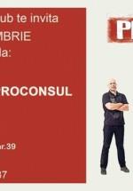 Concert Proconsul în Bicicleta French Pub din Sibiu