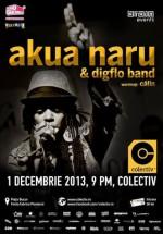 Concert Akua Naru în Colectiv din Bucureşti