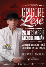 """Concert """"Un Crăciun cu Grigore Leşe"""" la Ateneul Român din Bucureşti"""