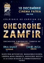 Concert Gheorghe Zamfir – Călătorie de Crăciun – la Cinema Patria din Bucureşti