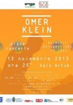 Concert Omer Klein la Sala ArCuB din Bucureşti