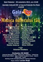 Gala Ovo Music 2013 la Sala Palatului din Bucureşti