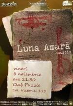 Concert acustic Luna Amară în Club Puzzle din Bucureşti