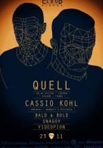 Quell şi Cassio Kohl în Control Club din Bucureşti (CONCURS)