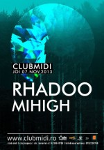 Rhadoo în Club Midi din Cluj-Napoca