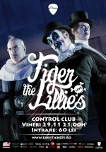 Concert The Tiger Lillies în Control Club din Bucureşti