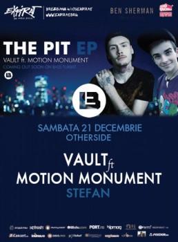 Vault ft. Motion Monument & Ştefan în Club Expirat – OtherSide din Bucureşti