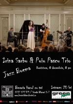 Concert Irina Sârbu & Puiu Pascu Trio la Berăria Hanul cu Tei din Bucureşti