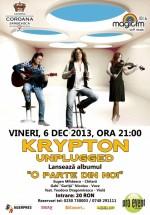 Concert Krypton Unplugged la Taverna Coroana Sârbească din Râmnicu-Vâlcea