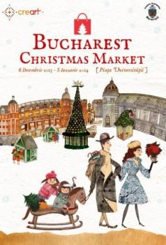 Bucharest Christmas Market 2013 în Piaţa Universităţii din Bucureşti