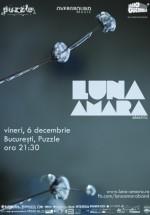 Concert electric Luna Amară în Club Puzzle din Bucureşti
