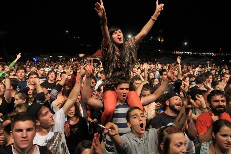 60.000 de persoane au fost prezente la Peninsula 2013 la Cluj-Napoca - Foto: facebook.com/PeninsulaFelszigetOfficial