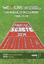 Pariul Sunete 2014 în Atelierul de Producţie din Bucureşti