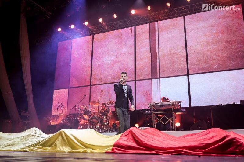 "Vama interpretând piesa ""Declar pierdută ţară"" - Foto: Daniel Robert Dinu / iConcert.ro"