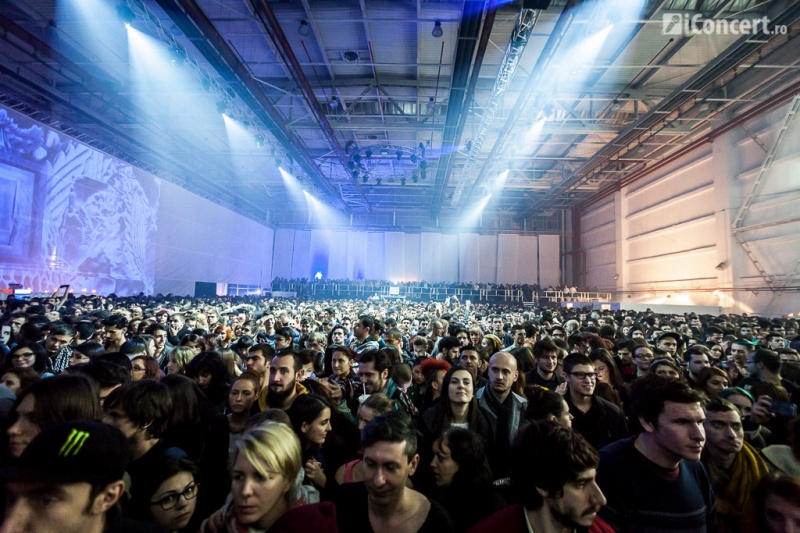 Locaţia de la Romaero - Băneasa a fost plină - Foto: Daniel Robert Dinu / iConcert.ro