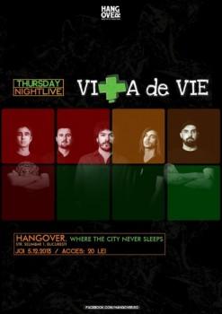 Concert electric Viţa de Vie în Club Hangover din Bucureşti