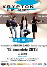 Concert Krypton Unplugged în Old House din Deva