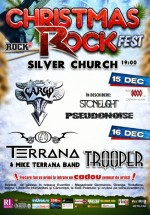 Christmas Rock Fest 2013 la The Silver Church din Bucureşti