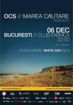 Concert OCS în Club Fabrica din Bucureşti – ANULAT