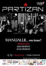Concert Partizan & special guests în Control Club din Bucureşti