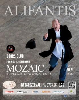 "Concert Nicu Alifantis – ""Mozaic"" în Club Doors din Constanţa"