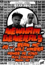 Newham Generals în Club Midi din Cluj-Napoca